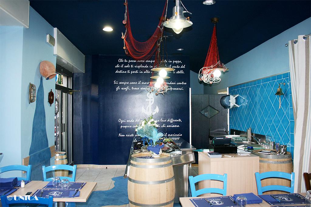 Arredamento ristorante di pesce » Unica Arredamenti